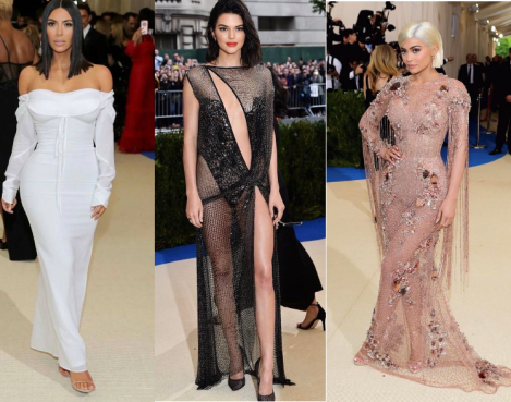 Image result for kardashian's Met gala 2017